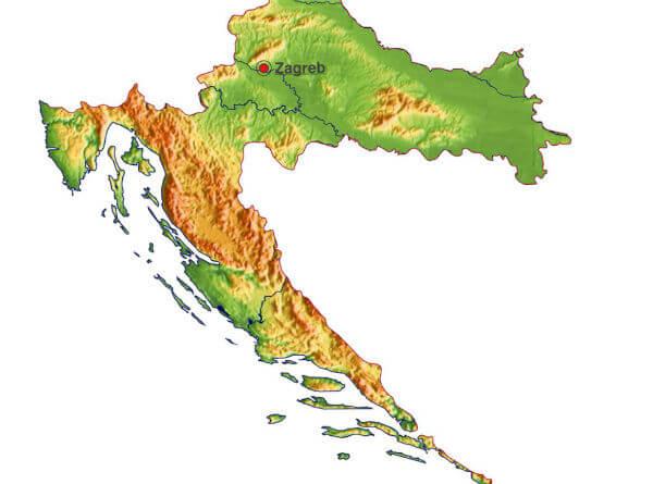 Kroatia Kartta Tietoa Kroatiasta Fincro Fi